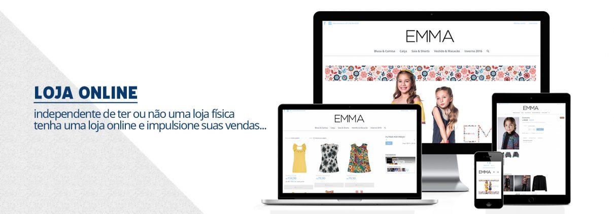 Loja online - ecommerce - site responsivo - coyote criativo
