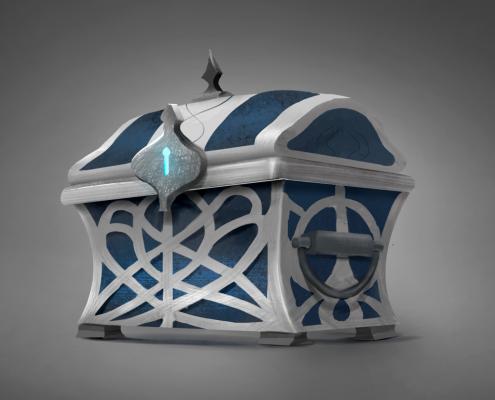 Concept 3D - elven ruins - Coyote Criativo