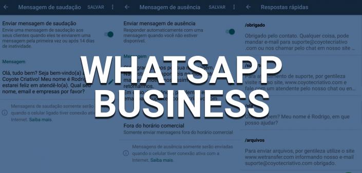 Whatsapp business para sua empresa
